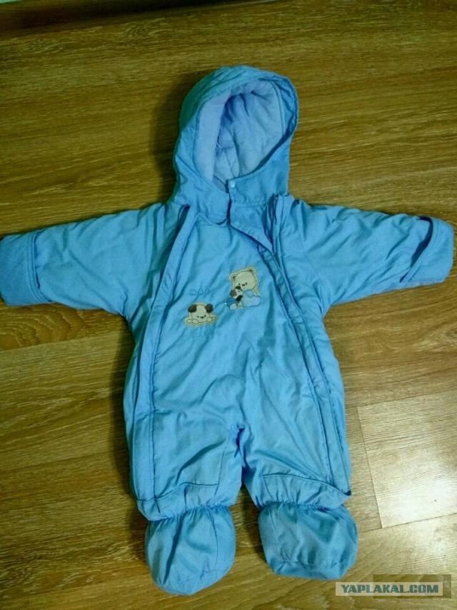 Детский демисезонный комбинезон фирмы Bolichin 74 размер