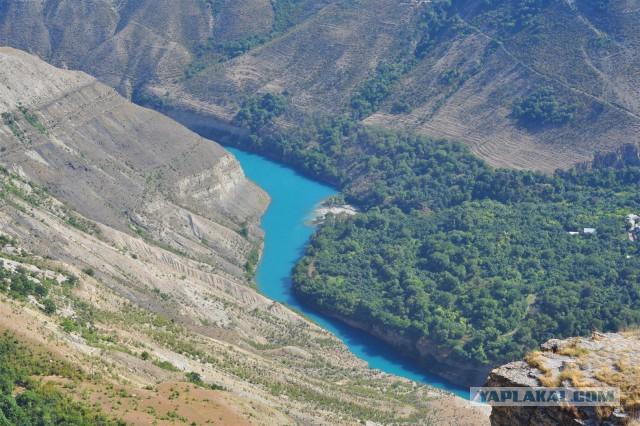 Самый грандиозный каньон России!