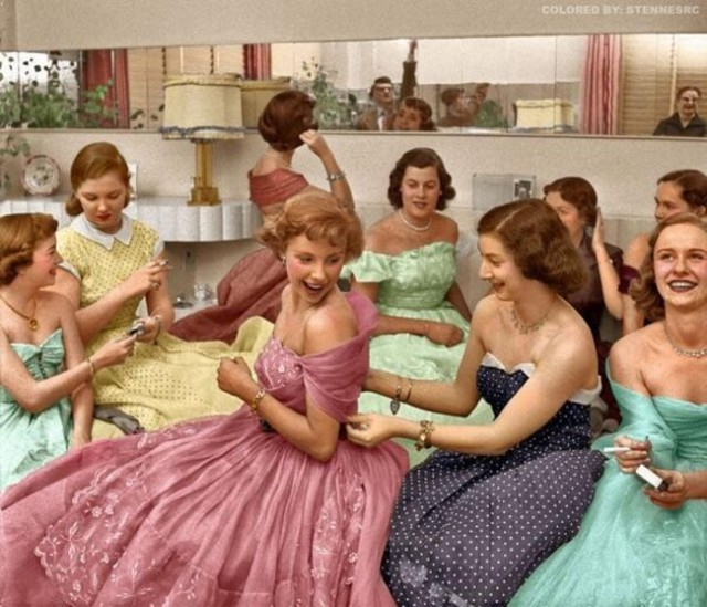 Удивительные ретро фотографий о жизни в прошлой эпохе