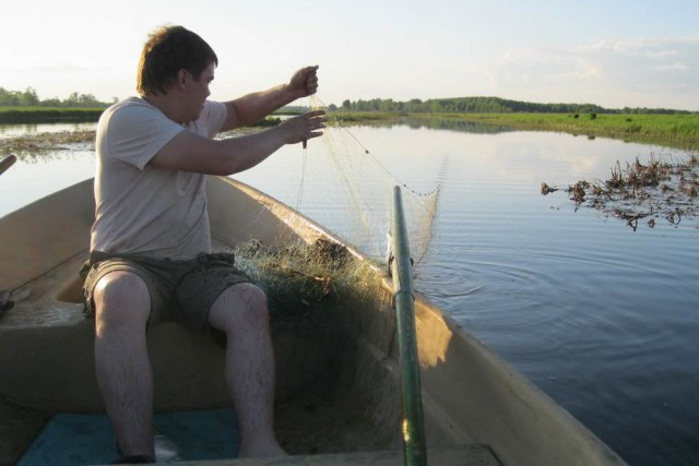 Пермские рыбаки предложили запретить продажу рыболовных сетей