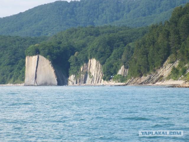 Поездка на Чёрное море. 2014. п. Дедеркой