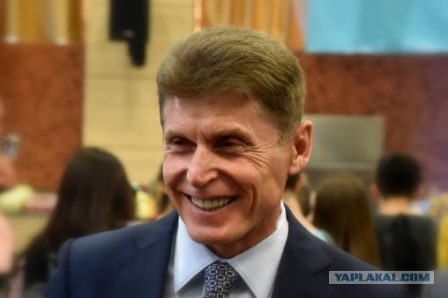 Олег Кожемяко победил на выборах главы Приморья