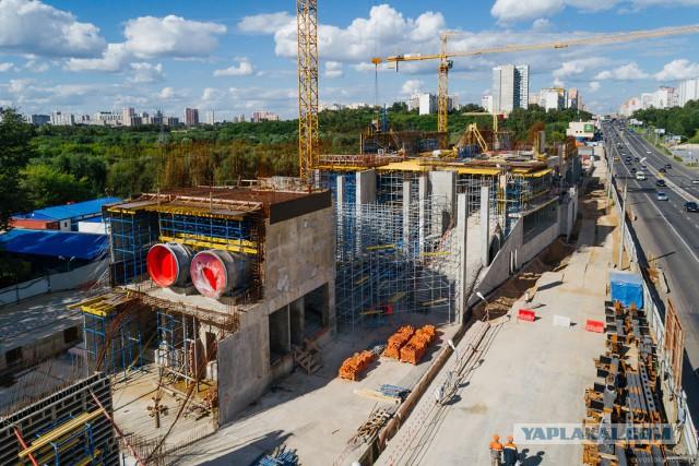 Таких станций метро в Москве еще не строили