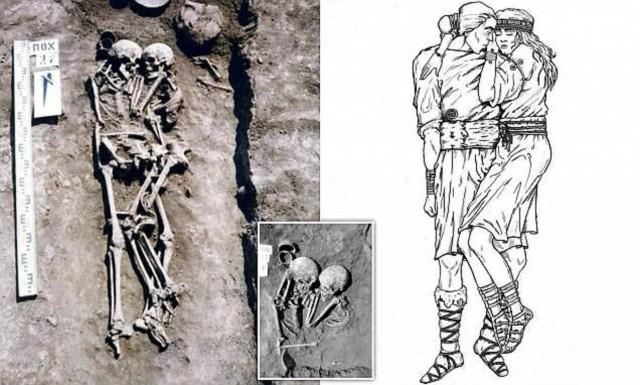 Три тысячи лет назад... Мумии и скелеты. 36.