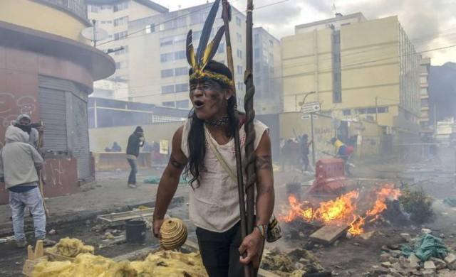 Эквадор: Улицы пахнут насилием
