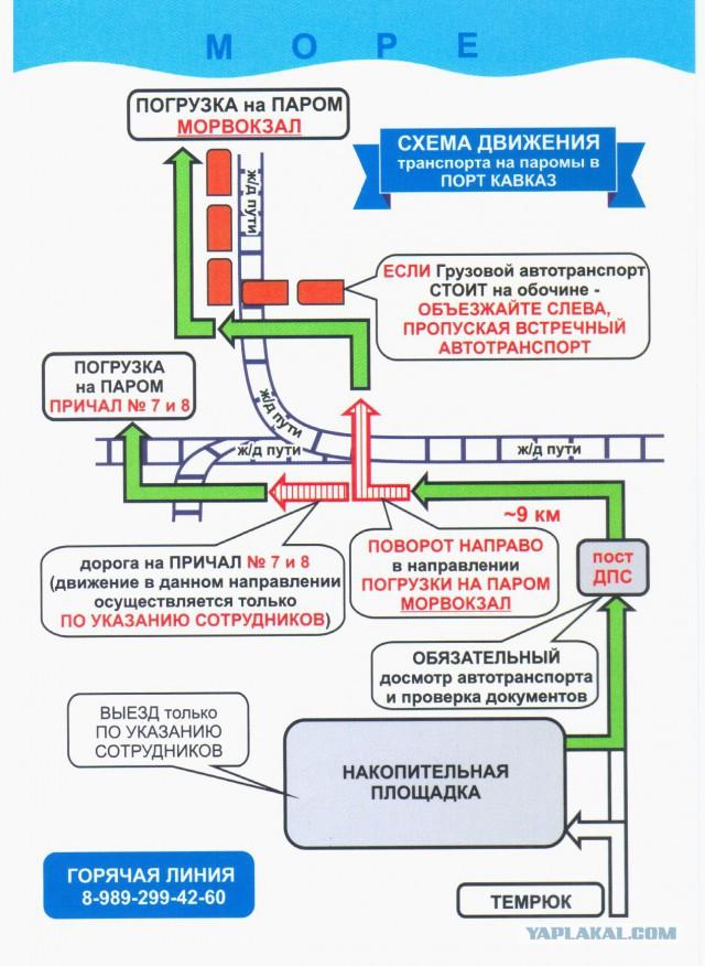"""Госпаром или сказ о лодках """"Крым"""" (Керчь) — """"Кавказ"""" туда обратно"""