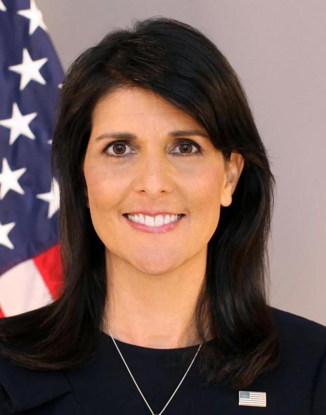 СШАготовы вновь ударить поСирии, заявила Хейли