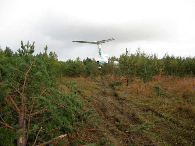 Ту-154М совершил экстренную посадку