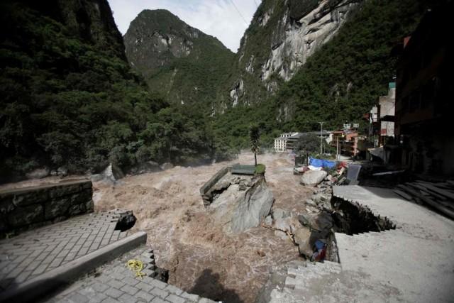 Жуткое наводнение в Перу