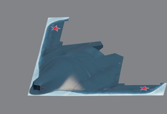 Россия испытывает скоростной ударный беспилотник