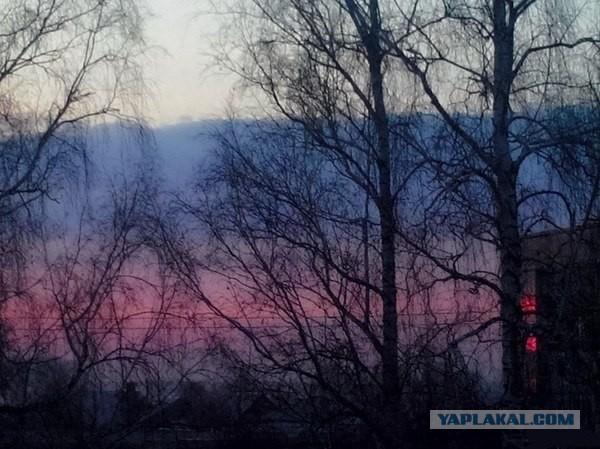 Патриотичный закат