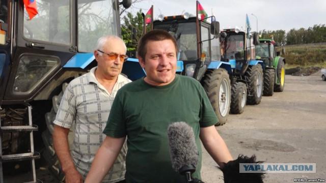 """Организатора """"тракторного марша"""" задержали по подозрению в экстремизме"""