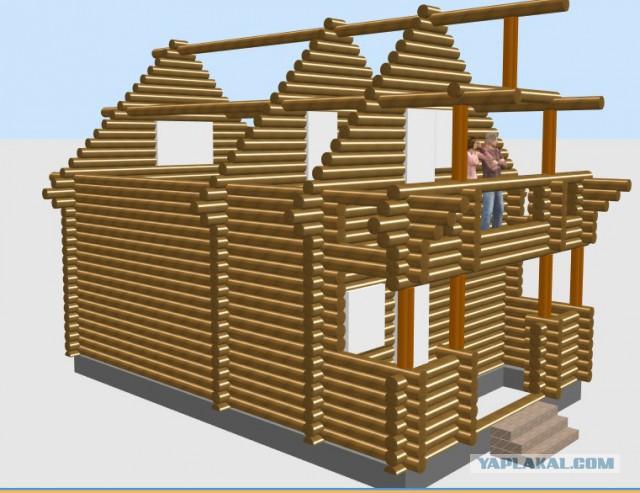 Сказ о том как я баньку строил.