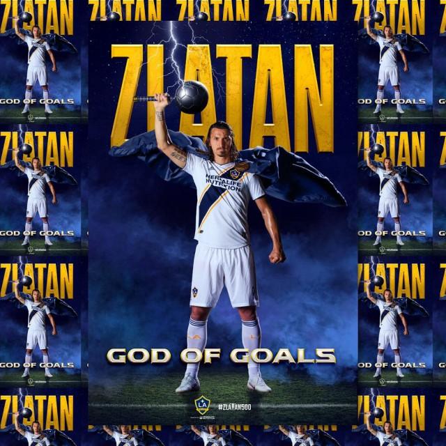 Ибрагимович забил 500-й мяч в карьере и назвал себя «Богом голов»
