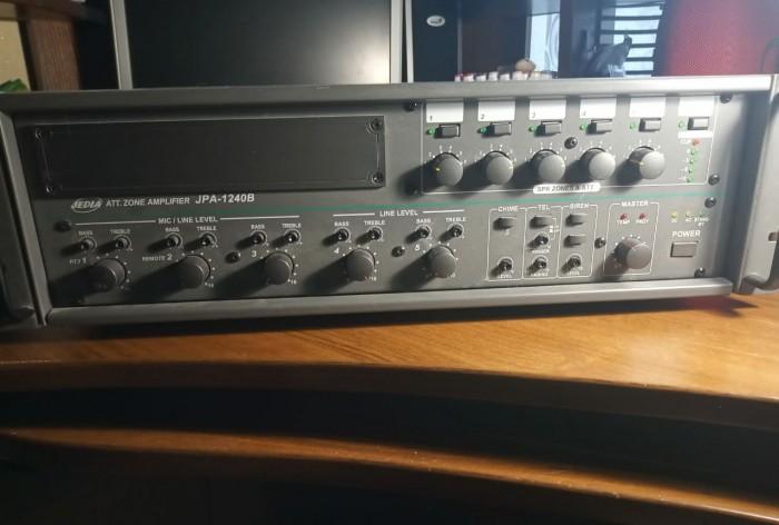 Ресиверы Pioneer  VSX 821K и  трансляционный усилитель Jedia JPA 1240B