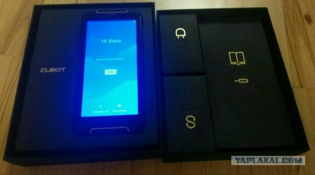 "Телефон 4/64 5.5"" 2SIM NFC IP68 6000мАч"