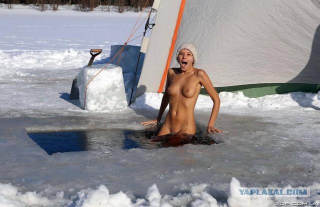 """Мороз и ...  """"ангел"""" день чудесный...."""