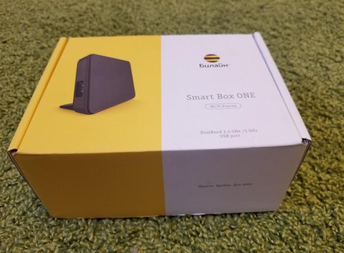 Задарю роутер Smart Box ONE ... Москва