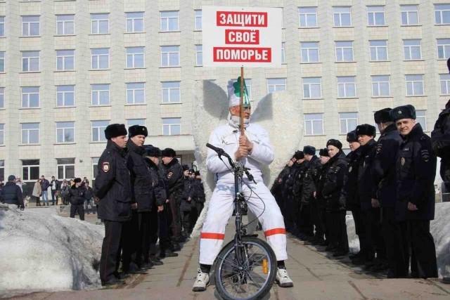 Выступавший против строительства мусорного полигона на Шиесе Древарх Просветленный покинул Россию из-за уголовного дела