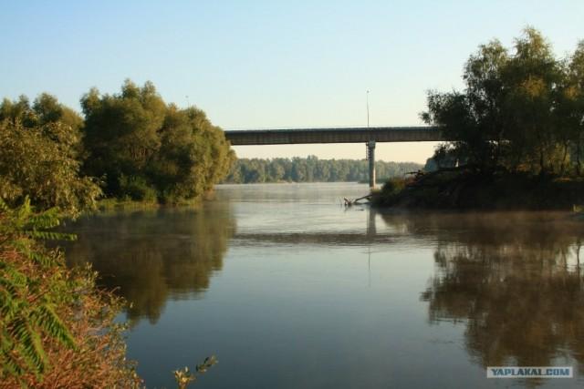 Сплав по Десне, сентябрь 2011