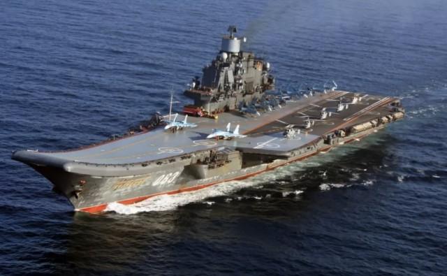 """В Мурманской области загорелся авианосец """"Адмирал Кузнецов"""". Уже известно о пострадавших."""
