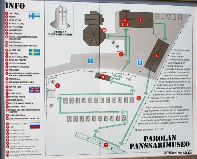 Музей бронетехники в Парола, Финляндия
