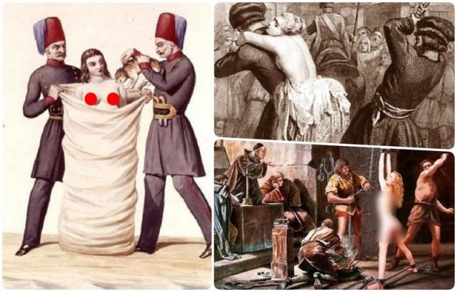 Что будет, если наставить мужу рога: как раньше жестоко наказывали жен за измену