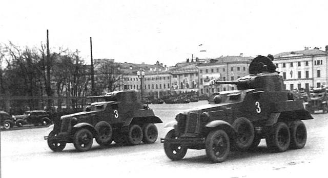 Советские бронеавтомобили предвоенного и военного периода