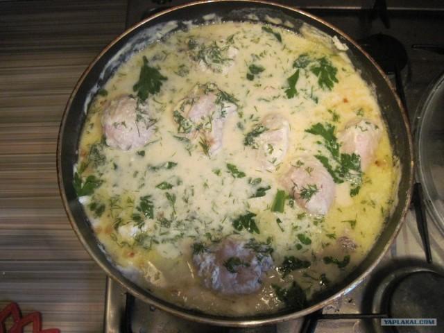 гедлибже из курицы рецепт с фото