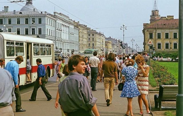 Ленинград 1972 года