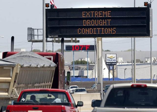 Жуткая засуха в Техасе: фанатики ждут конца света