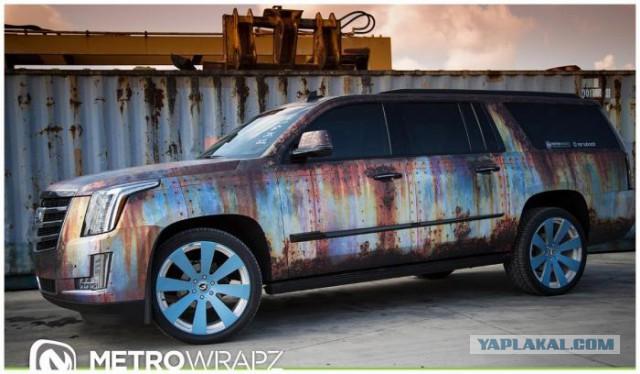 Покраска ржавчины на авто