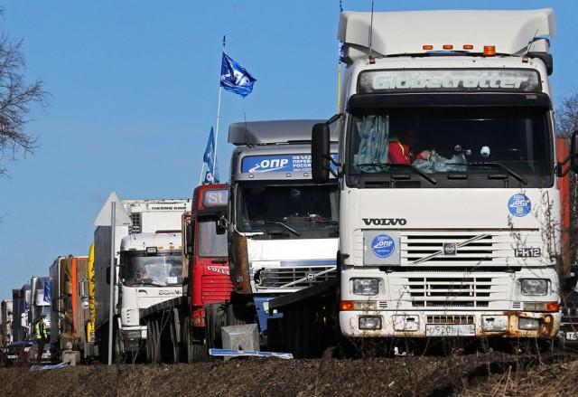 Государство за 2 года собрало с дальнобойщиков 36 млрд рублей