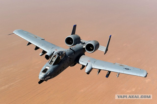США начали замену штурмовиков A-10 Thunderbolt II