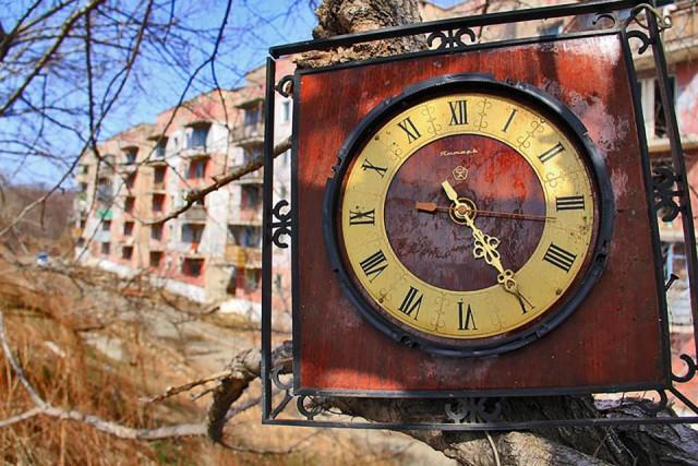 Последний житель брошенного городка в Сибири