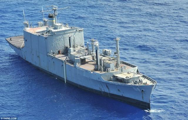 Австралийская подлодка потопила корабль США