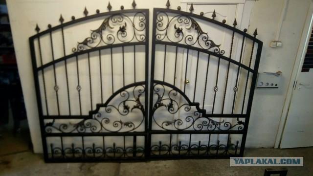 Продам ворота в стиле борокко