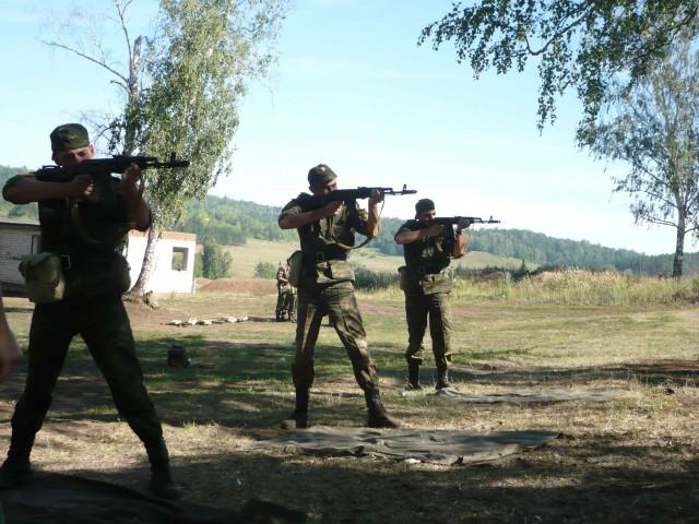 Военные сборы в с.Алкино-2