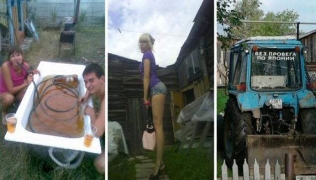 Полюбила тракториста, или очередная адская сельская дичь