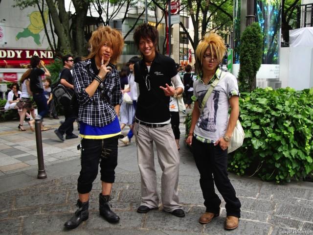 Экзотическая японская мода.