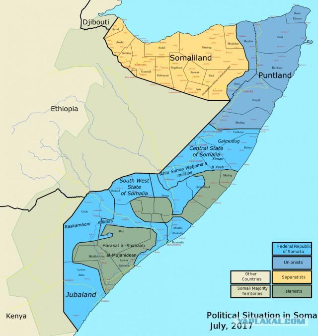 Россия хочет разместить военную базу в Африке