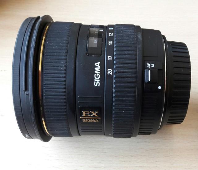 Продам объектив Sigma AF 10-20mm f/4-5.6 EX DC HSM Canon EF-S