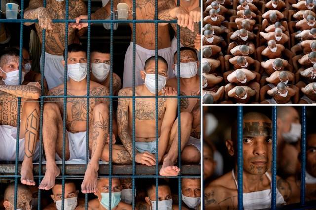 25 кадров из переполненных тюрем Сальвадора