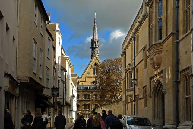Путешествие по Оксфорду