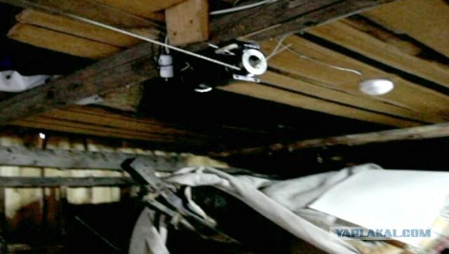 """Автоматические ворота в гараж """"сделай сам"""""""