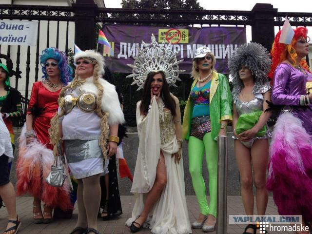 В Киеве перед гей-парадом задержали 56 человек