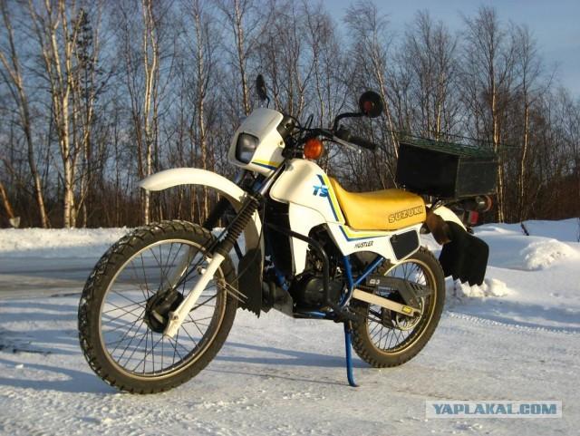 Продам SUZUKI TS50W HUSTLER легкий внедорожный мот