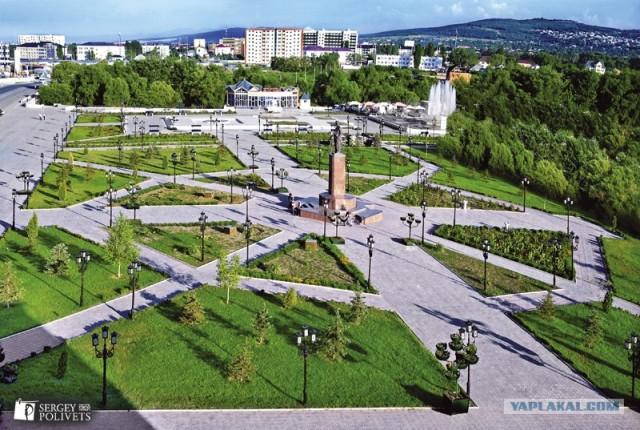 Город Грозный сегодня