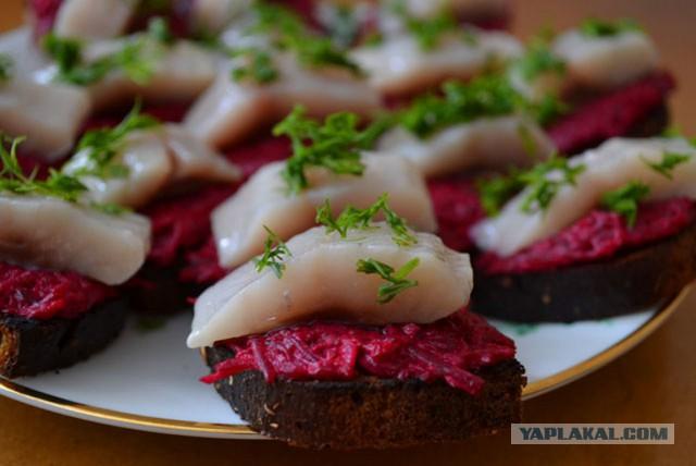 бутерброды закуски с фотографиями