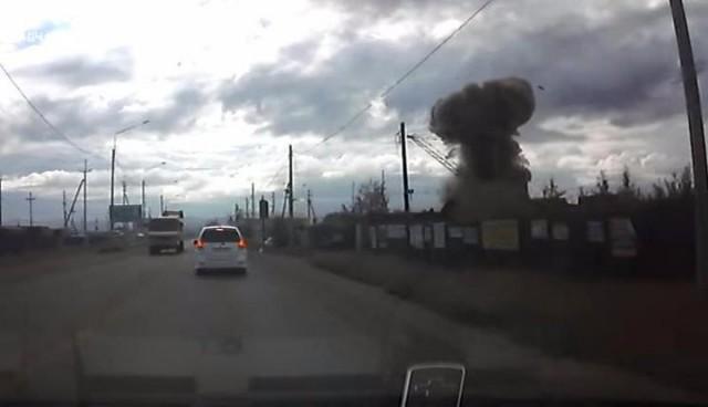 В России сдали в металлолом ракету С-200 и она взорвалась